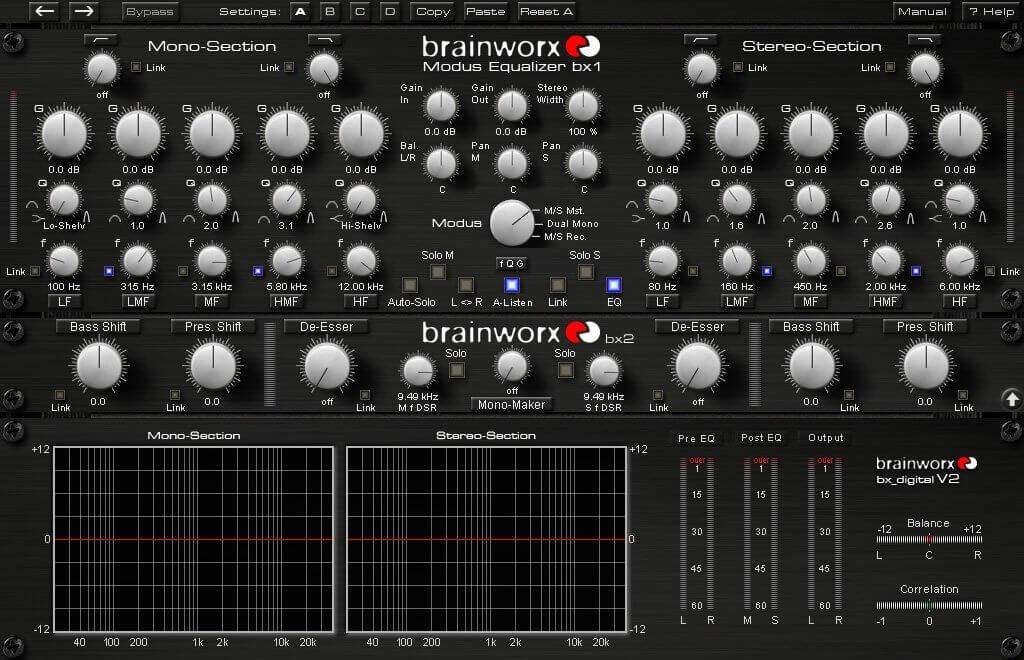equalizzazione brainwork